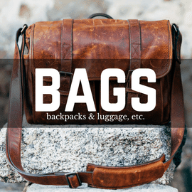 Bags, Handbags, Backpacks, and Luggage made in America