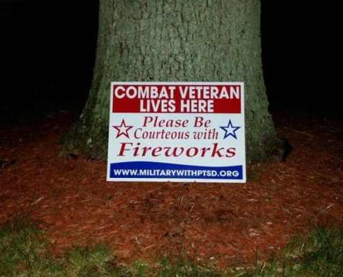 For Military Vets with PTSD, 4th and Fireworks Can Be Nerve-Wracking