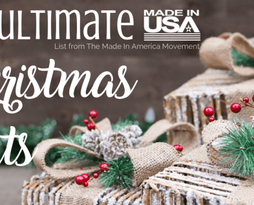 The Ultimate Made in USA Christmas Gift List | Ideas for the Entire Family... and Pets, Too, American List Christmas Gift Ideas, made in usa kids toys, made in usa pet food, made in usa jeans, made in usa shoes, made in usa bedsheets, made in usa towels, american made shoes, american made jeans, american made flatware, american made cookware, shop Made in USA