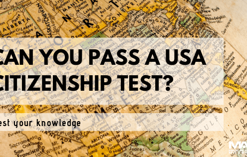 Can you pass the U.S. Citizenship Test? Most American Can't!