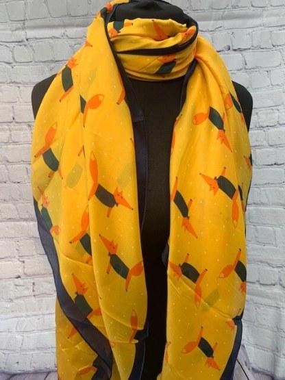 Foxy Loxy Yellow