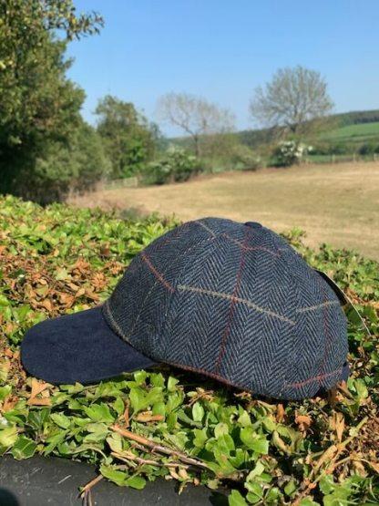 Blue Tweed Cap