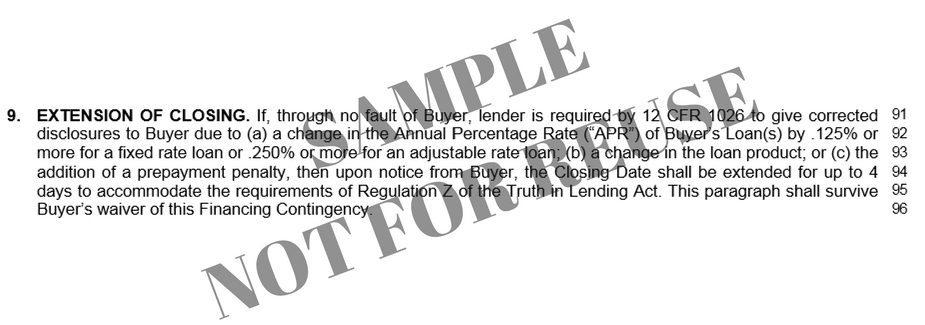 Understanding The Financing Addendum For Your Puget Sound