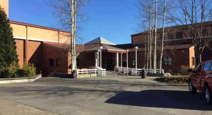 Mountlake Terrace High School Front Entrance