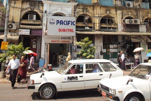 Yangon airport taxi