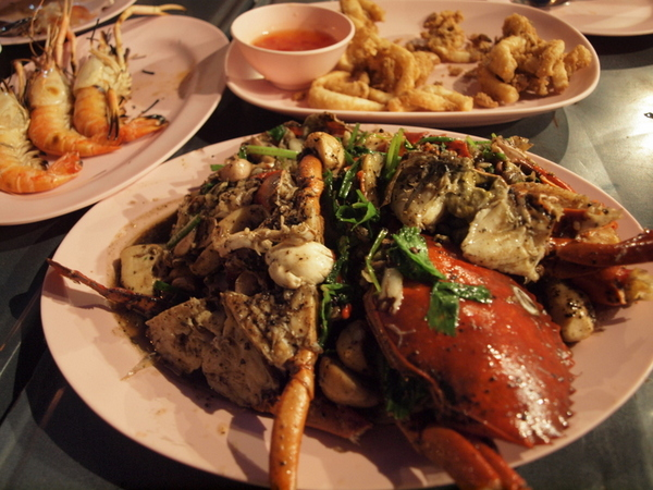 Crab at Lek & Rut Seafood