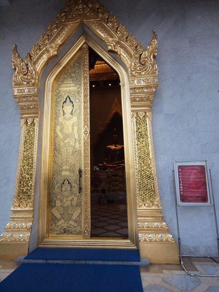 Golden Buddha at Wat Traimit in Bangkok