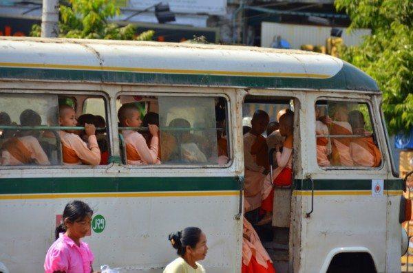 buddist-nun-burma-bus