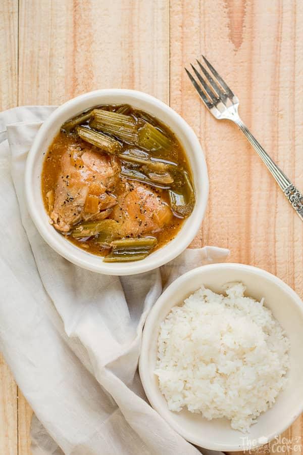 Slow Cooker Pepper Chicken {Freezer Meal Friendly}