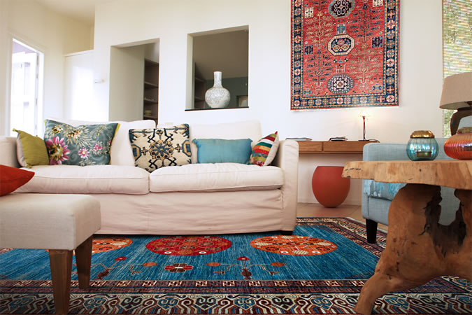 blue persian rug living room club frankfurt the magic carpet oriental rugs decorating with from decorate a
