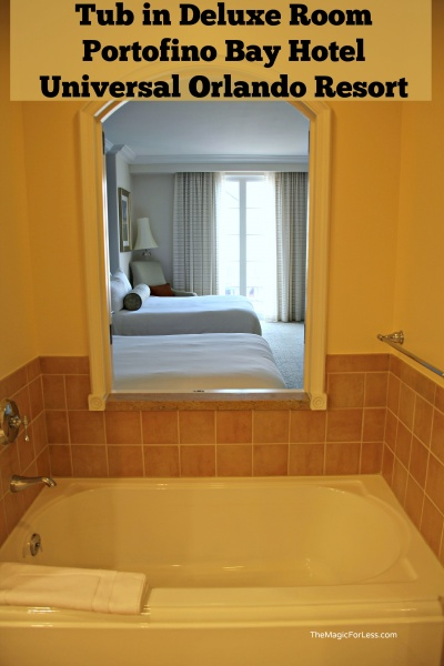 Portofino Bay Hotel Rooms at the Universal Orlando Resort