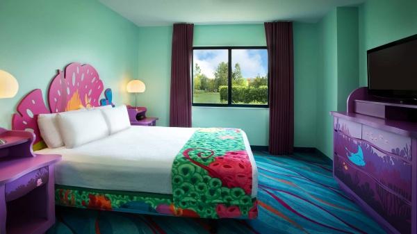 Disneys Art of Animation Resort Room Photos