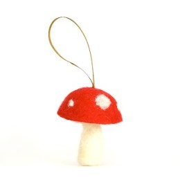 Tutorial – Needle Felted Toadstool.