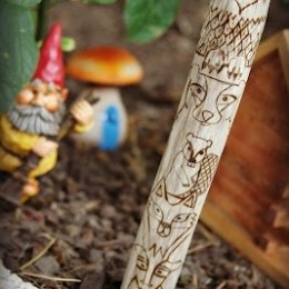 Magical Kid Friendly Fairy Garden from The Magic Onions Blog