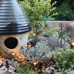 Winners of the 2012 Fairy Garden Contest !