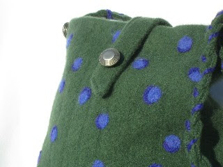 Gorgeous felted sweater purse