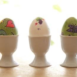 Pretty Colored Easter Eggs