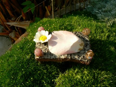 No fairy garden is complete with out an enchanting fairy bed