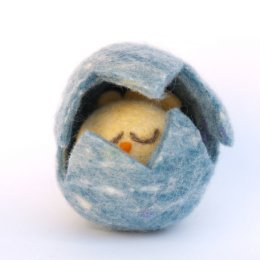 A Needle Felted Easter