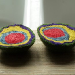 Felted Geode Tutorial :: Felting Fun for Kids