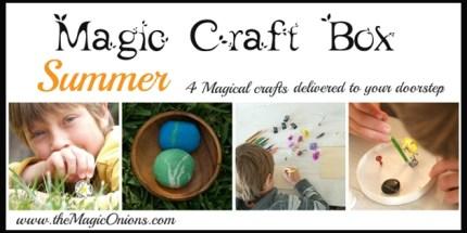 Summer Magic Craft Box - The Magic Onions - www.theMagicOnions.com