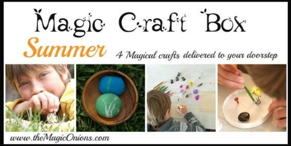 Summer Magic Craft Box - The Magic Onions - www.theMagicOnions.com