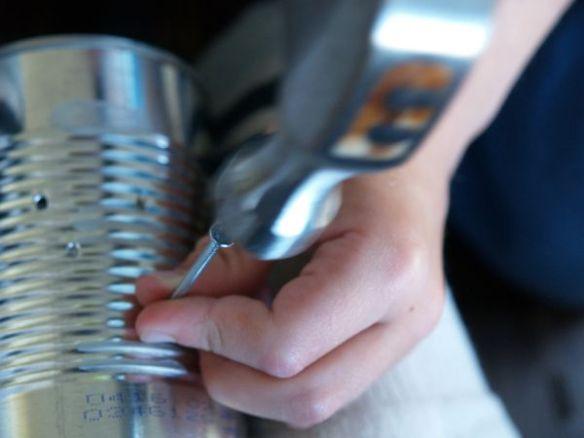 Make a Tin Lantern :: www.theMagicOnions.com