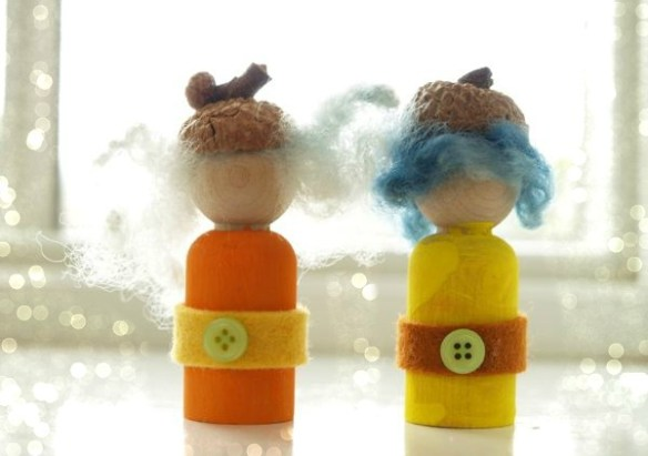 Make Pretty Autumn Gnomes : Magic Craft Box : www.theMagicOnions.com