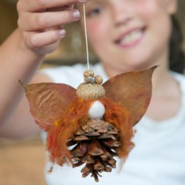 Let's Make An Autumn Fairy From Natural Materials