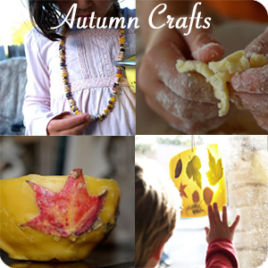 Fall Crafts from The Magic Onions : www.theMagicOnions.com