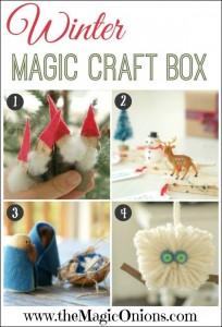 Winter Magic Craft Box - https://themagiconions.com/shop/product/the-magic-craft-box-winter/