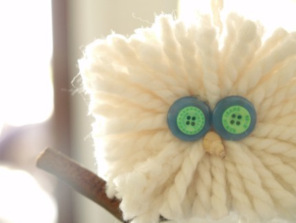 Wool Owl Christmas Ornament : www.theMagic Onions.com