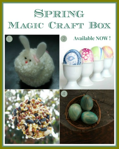 Spring Magic Craft Box : www.theMagicOnions.com