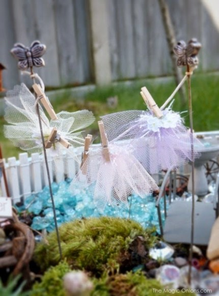 Gorgeous Fairy Garden in the 2014 Fairy Garden Contest on The Magic Onions : www.theMagicOnions.com