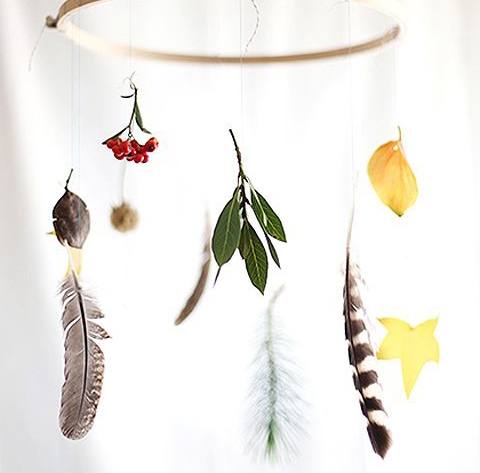 Make a Nature Mobile : Summer Magic Craft Box - www.theMagicOnions.com/shop