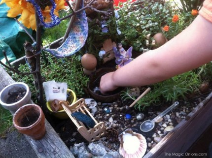 Fairy Garden : The Magic Onions : www.theMagicOnions.com