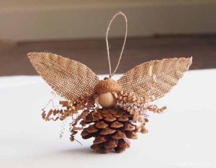 Pine Cone Fairy in Autumn Magic Craft Box : The Magic Onions