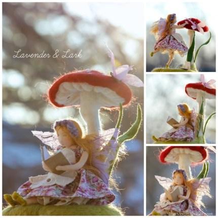 Fairy Prize in the Fairy GArden Contest from Lavender & Lark : www.theMagicOnions.com