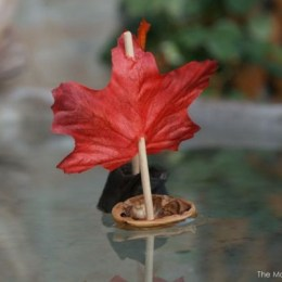 Tutorial : Walnut Shell Leaf Boat
