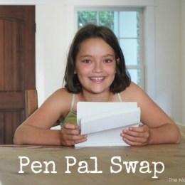 Pen Pal Swap