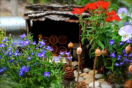 Child Friendly Fairy Garden : Fairy Garden Contest : www.theMagicOnions.com