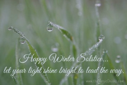 Winter Solstice : www.theMagicOnions.com