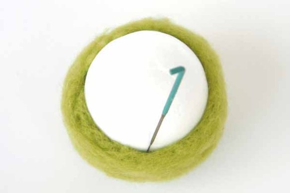 Tutorial : Felted Spring Nest : The Magic Onions Blog