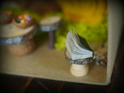 Miniature book in my fairy garden photo