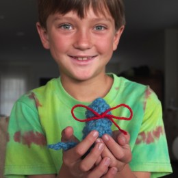 Easy Knitting for Kids : Knitted Cat Tutorial : Discovering Waldorf
