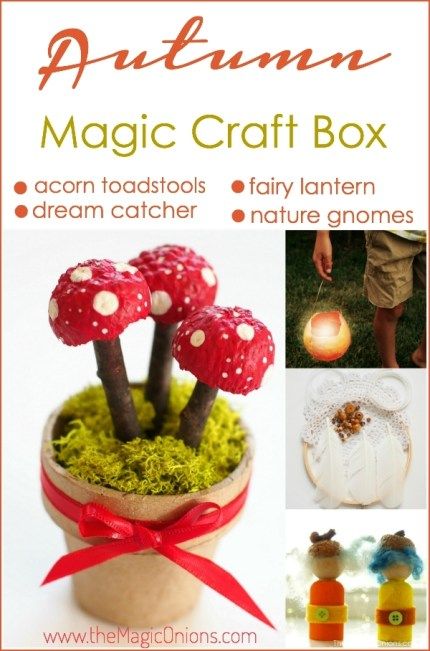 Photo of Autumn Magic Craft Box : www.theMagicOnions.com/shop