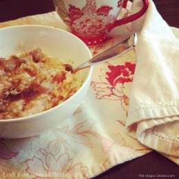 Autumn Breakfast :: Overnight Spiced Fruit Porridge