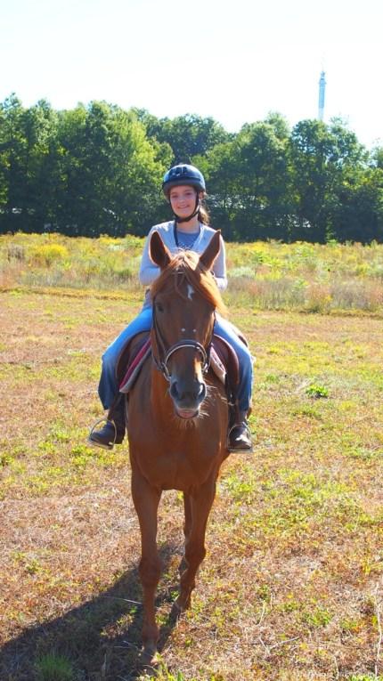 Photo of our horseback trailride : www.theMagicOnions.com