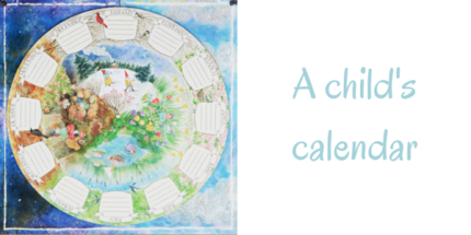A Child's Calendar : www.theMagicOnions.com