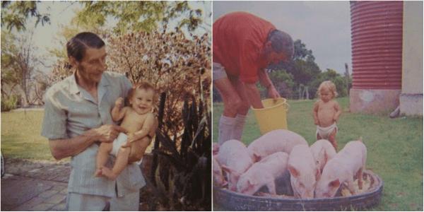 feeding the pigs : www.theMagicOniosn.com
